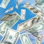 Money floating around