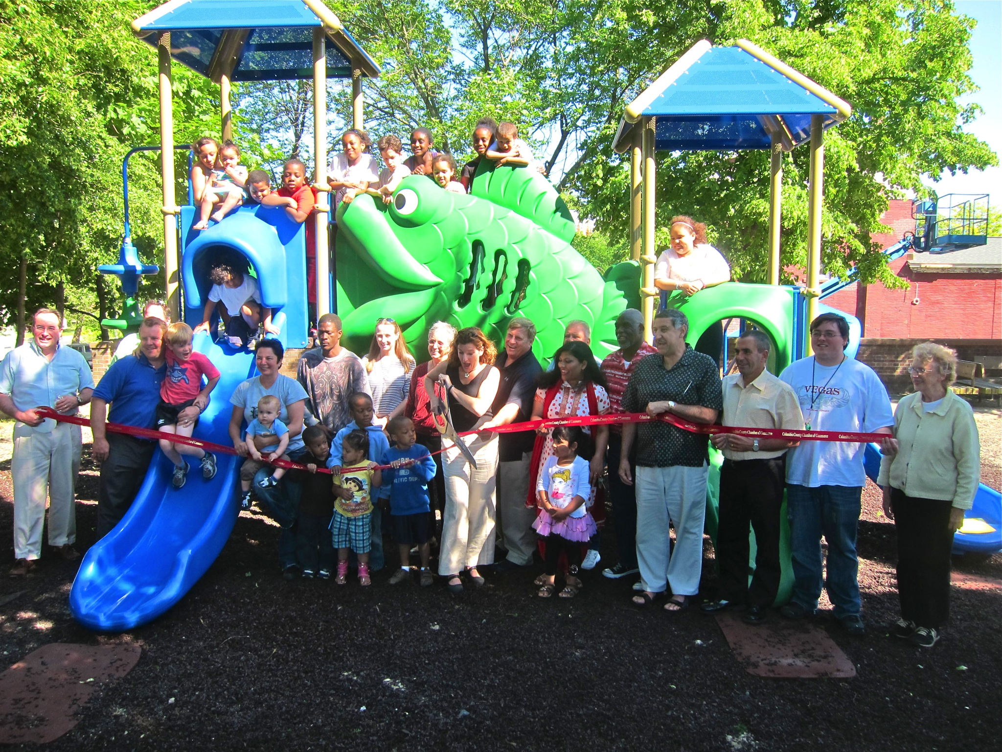 New playground at Promenade Hill