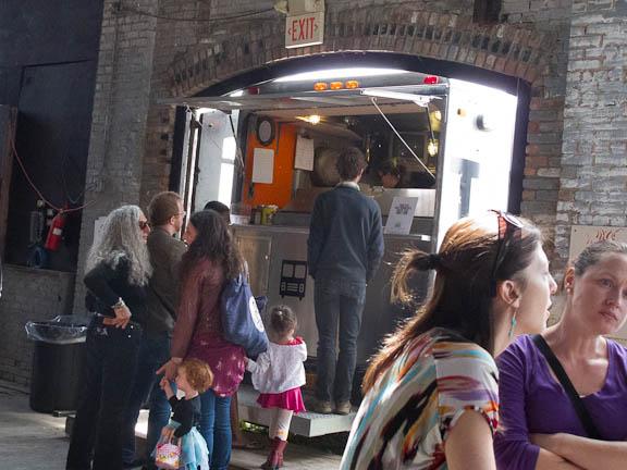 Ramp Fest Hudson Ny - Truck Pizza - Sam Starr