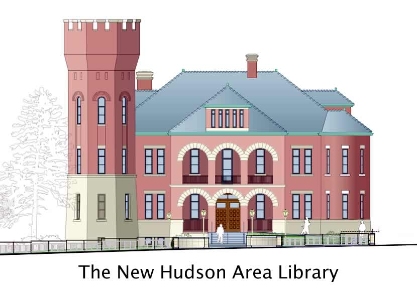 Hudon AreaArmory - 5th Street Entrance