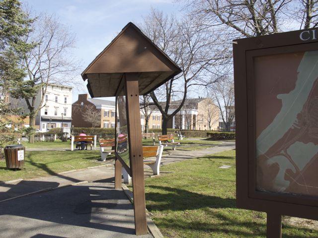 April 2, 2010 Park Signage Hudson